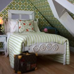 Dollhouse attic bedroom