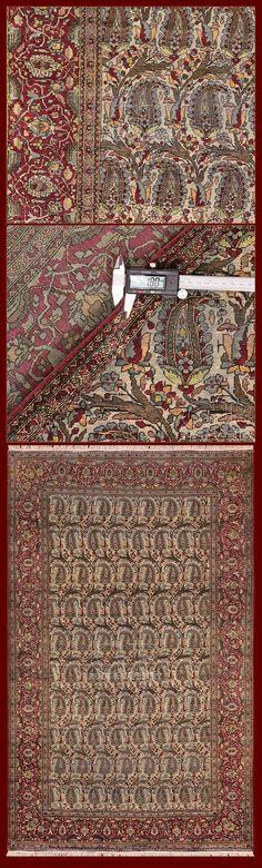 ANTIQUE ISFAHAN CARPET SILK 214 x 133 | 141327069040 | GB Rugs