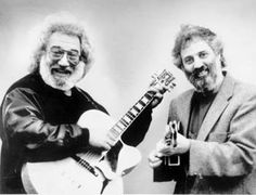 Pizza boys: Jerry Garcia and David Grisman reunite on newly released CD.