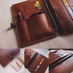 #leather #leathercraft #indonesia #jogja #kulit #hoslygoods #organizer