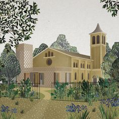 Church in the Forest : DK-CM
