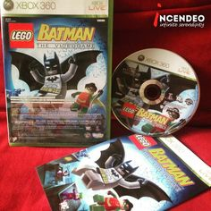 Lego Batman the Video Game for Microsoft Xbox360. #lego #batman #video #game #movie #microsoft #xbox360 #dccomics #collection #collectibles #play #incendeo #infiniteserendipity #蝙蝠侠 #电子游戏 #微软