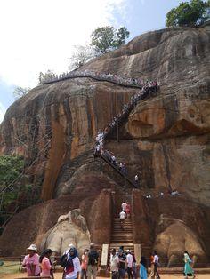 Sigiriya Sri Lanka, Mount Rushmore, Mountains, Nature, Travel, Parking Lot, Temples, Places, Elephants