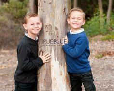 brothers.  Child portraits by True Blue Portrait