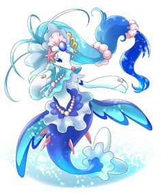 Primarina...can't wait till my Brionne evolves