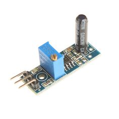 DIY Vibration Switch Sensor Module for Arduino (Works with Official Arduino Boards). Model: D1208033 - Color: Blue - Material: FR-4 - High sensitivity vibration sensor module - Main chipset: LM393 - Working voltage: DC 3~5V - With signal output indicator - Easy to installation - Great for DIY project. Tags: #Electrical #Tools #Arduino #SCM #Supplies #Sensors