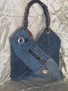 Quilted Elephant Denim Purse For Girls and by CoalBankHollowDesign, $18.00