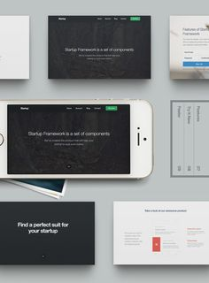 Startup Design Framework by Designmodo Screen Design, User Interface Design, Videography, Finding Yourself, Web Design, Backstage, 3d, Building, Design Web