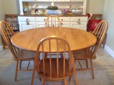 Our restored Ercol table