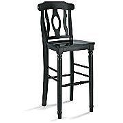 this could be a cute bar stool if painted with maybe a colorful handmade cushion...