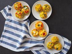 Mini omlete la cuptor in 4 feluri Ricotta, Baby Food Recipes, Broccoli, Omlete, Eggs, Keto, Cooking, Breakfast, Recipes For Baby Food