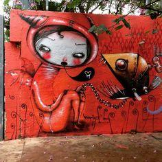Vermelho in Vila Pompeia, São Paulo, Brazil, 2016