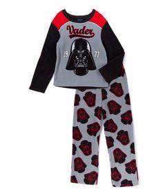 Gray Star Wars Darth Vader & Stormtroopers Pajama Set - Boys on #zulily!