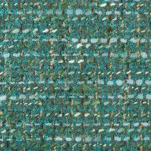 Teal/Moss Wool Blended Tweed Coating