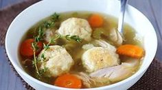 Crock Pot Chicken Matzo Ball Soup:  The ultimate comfort soup¦but this time your crock pot does all the work!