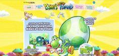 ¡Cuida de Bebé Mario en el mágico viaje de Yoshi!