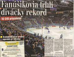 PLUS JEDE DEŇ - hokejový rekord. Bratislava