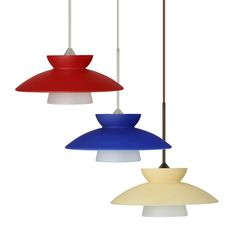 Besa Lighting 1XC-2718 Trilo Mini Pendant | ATG Stores