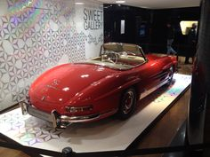 Sweet Gallery, Champs Élysées, Paris, November 2014. 300SL roadster, 1959.