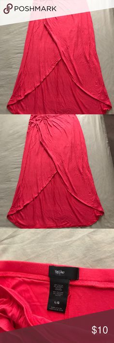 Long skirt New red long skirt Skirts