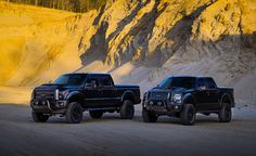 Ford F-150 and F-250 Black Ops Edition. http://drivetuscany.com/black-ops/