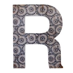 Wholesale 'r' wall plaque - Something Different