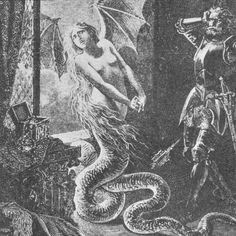 http://vovatia.wordpress.com/2012/09/03/tales-and-tails/  The story of Melusine