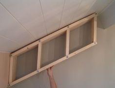 Adjustable bookshelf for angled walls http://www.instructables.com/id/Adjustable-bookshelf-for-angled-walls/