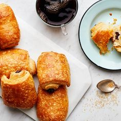 If my life ever slows down, I will make Chocolate Croissants (aka Pain au Chocolat) From Scratch