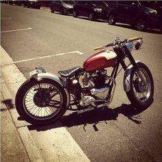 Hardtail Triumph Thunderbird #motorcycles #Phuket #Thailand
