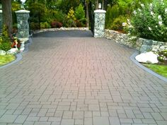 Asphalt Imprinting Contractor Victoria BC Asphalt Stamping | Square One Paving / Victoria Driveways
