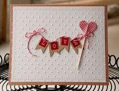 paper, cookies, etc. : Simple Valentines