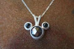 mickey mouse necklace