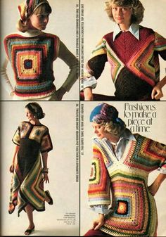 .Love the dress one. I think it's easy to crochet