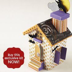 haunted paper house kit by bhg.com