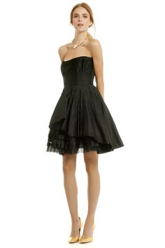 Rent Peek of Tulle Dress by allison parris for $75 - $85 only at Rent the Runway.