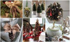 Разнообразие идей новогоднего декора из шишек - Ярмарка Мастеров - ручная работа, handmade