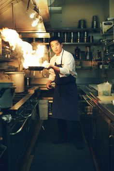 Executive chef Sung Anh of Aziza by A. Farnum