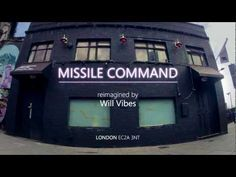 Gaming reimagined by Internet Explorer- Missile Command by Will Vibes