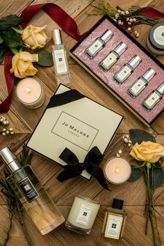 Jo Malone London  I get hooked on a new yummy scent every time I visit their counter. Heavenly stuff!