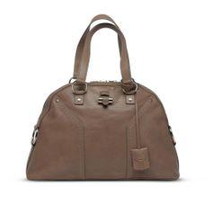 Y.S.L. Beige Muse Bag