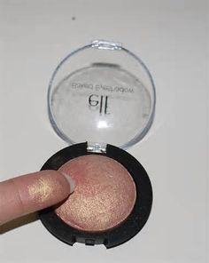 ELF Enchanted eyeshadow. Great dupe for MAC expensive pink