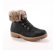Kotníkové boty na zavázání | blancheporte.cz #blancheporte #blancheporteCZ #blancheporte_cz #novakolekce #zima