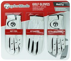 TaylorMade Men Golf Gloves Leather Palm Patch 3 Pack  Left hand glove for the right-handed golfer Premium genuine leather palm patch for a soft feel where you need it most Synthetic upper layer with stretchy poly inserts stretch-fit to your hand for enhanced comfort Strategically placed perforated vents engineered for increased breath-ability TaylorMade gloves combine essential performance features into one complete design.         TaylorMade Men Golf Gloves Leather Palm Patch 3 Pa..