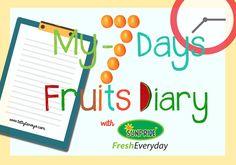 tetty tanoyo's: #My7-DaysFruitsDiary: Fruits I'm in Love!