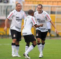 Ronaldo Fenômeno , Danilo e Elias - SPORT CLUB CORINTHIANS PAULISTA