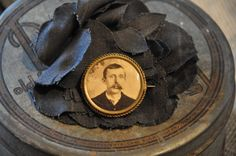 Early 1900s Brass Photo Pin by TheRawSupplyCo on Etsy, $19.95