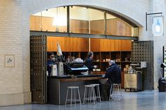 Name: Blue Bottle Coffee (Ferry Building)  Where: San Francisco, CA