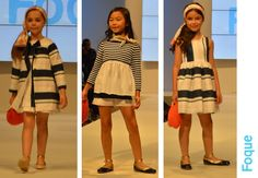 #rayas #tendencias #modaniña #primaveraverano2017 #pasarela #FIMI #KIDSFASHIONWEEK #desfile #modainfantil #Foque #fashionkids #childrenswear #stylishkids #ministyle #blogmodainfantil #pequeñafashionista