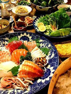 手巻き寿司パーティースタート - 70件のもぐもぐ - 手巻き寿司 by komamie